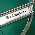 1953 Chevrolet Belair Side Emblem by Jill Reger