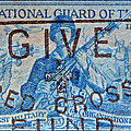 1953 The National Guard Of The U. S. Stamp by Bill Owen