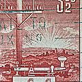 1954 Centenary Of Australian Telegraph Stamp by Bill Owen