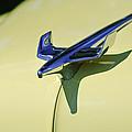 1954 Chevrolet Belair Hood Ornament 2 by Jill Reger
