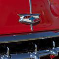 1954 Chevrolet Convertible Hood Emblem by Jill Reger