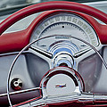 1954 Chevrolet Corvette Steering Wheel by Jill Reger