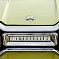 1954 Ford Thunderbird Taillight Emblem by Jill Reger