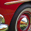 1954 Hudson Hornet Wheel And Emblem by Jill Reger