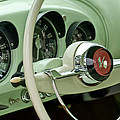 1954 Kaiser Darrin Steering Wheel by Jill Reger