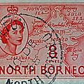 1954 North Borneo Stamp by Bill Owen
