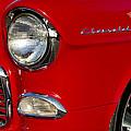 1955 Chevrolet 210 Headlight by Jill Reger