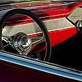 1955 Chevrolet 210 Steering Wheel by Jill Reger