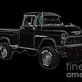 1955' Chevrolet 3100 350 V8 by John Gaffen