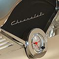 1955 Chevrolet Belair Clock by Jill Reger