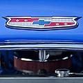 1955 Chevrolet Belair Hood Emblem 4 by Jill Reger