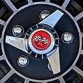 1955 Chevrolet Truck Wheel Rim by Jill Reger