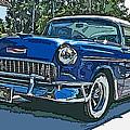1955 Chevy Bel Air by Samuel Sheats