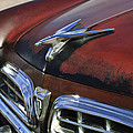 1955 Chrysler Windsor Deluxe Hood Ornament by Jill Reger