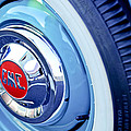 1955 Gmc Suburban Carrier Pickup Truck Wheel Emblem by Jill Reger