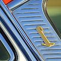 1955 Lincoln Capri Emblem by Jill Reger
