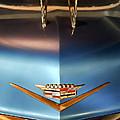 1956 Cadillac Eldorado Biarritz Convertible Hood Ornament And Emblem by Jill Reger
