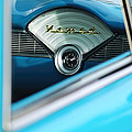 1956 Chevrolet Belair Nomad Dashboard Clock by Jill Reger