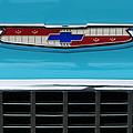 1956 Chevrolet Belair Nomad Grille Emblem by Jill Reger