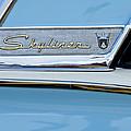 1956 Ford Fairlane Skyliner Emblem by Jill Reger