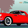 1956 Thunderbird by Robert Bissett