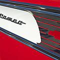 1957 Chevrolet Cameo Pickup Emblem by Jill Reger