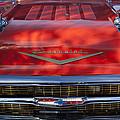 1957 Chevrolet Grille 2 by Jill Reger