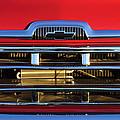 1957 Chevrolet Pickup Truck Grille Emblem by Jill Reger