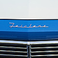 1957 Ford Fairlane Grille Emblem by Jill Reger