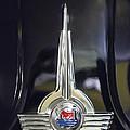 1957 Morris Minor 1000 Traveller Emblem by Jill Reger