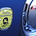 1957 Porsche Emblem by Jill Reger