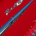 1958 Chevrolet Belair Emblem by Jill Reger