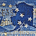 1959 Alaska Statehood Stamp by Bill Owen