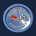 1959 Chevrolet Corvette Emblem by Jill Reger