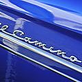 1959 Chevrolet El Camino Emblem by Jill Reger
