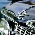 1959 Chevrolet Grille Emblem by Jill Reger