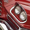1959 Chrysler 300 Headlight by Jill Reger