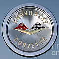 1959 Corvette Emblem by Paul Ward