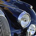 1959 Jaguar S Roadster Headlights by Jill Reger