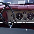 1959 Jaguar S Roadster Steering Wheel by Jill Reger
