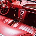1960 Chevrolet Corvette Interior by Mary Deal