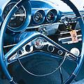 1960 Chevrolet Impala Steering Wheel by Glenn Gordon