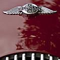 1960 Morgan Plus Four Drophead Coupe Hood Emblem by Jill Reger