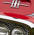 1960 Plymouth Xnr Ghia Roadster Grille Emblem by Jill Reger