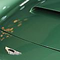 1961 Aston Martin Db4 Series Iv Hood Emblem by Jill Reger