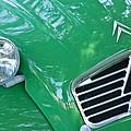 1961 Citroen 2cv Landaulet Hood Emblem by Jill Reger
