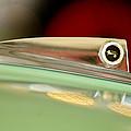 1961 Ford Galaxie Convertible Hood Ornament by Jill Reger