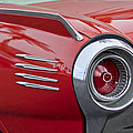1961 Ford Thunderbird Taillight by Jill Reger