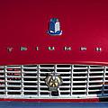 1961 Triumph Tr3a Roadster Grille Emblem by Jill Reger