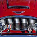 1962 Austin-healey 3000 Mkii Grille by Jill Reger
